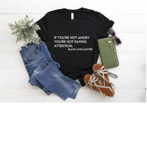 Tops - Black Lives Matter, Civil Rights T-shirt